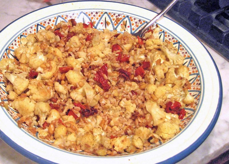 Farro_salad_cauliflower_oven-roasted_tomatoes
